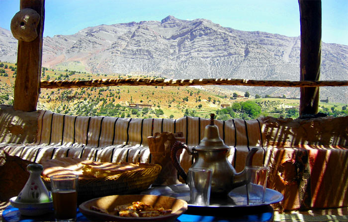 Hebergement Gite Atlas Maroc Vallee Anergui
